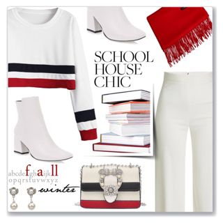 Work Hard, Play Hard: White Casual Chic Look by jecakns