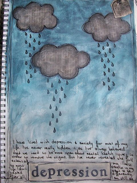 art journal page by Melita Bloomer Share with me your sorrow.... #shareamemory