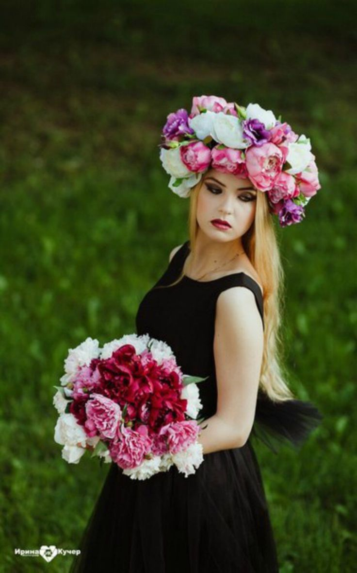 74 best flower crowns images on pinterest floral crowns flower large flower crown floral headband big headdress bohemian headpiece oversized flower crown fascinator rustic headband wreath izmirmasajfo Images