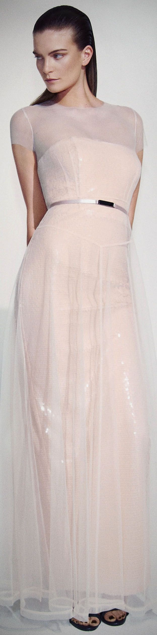 This has a bit more coverage wedding dresses for brides for Wedding dresses over 50