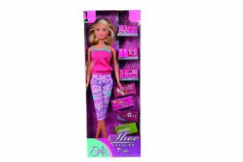 #SimbaToys #toys #kids #steffilove #doll  Simba 5733401 Steffi Love Fashion Shoe Set Simba http://www.amazon.in/dp/B006IS9ZB8/ref=cm_sw_r_pi_dp_44vDwb1N0J6DJ