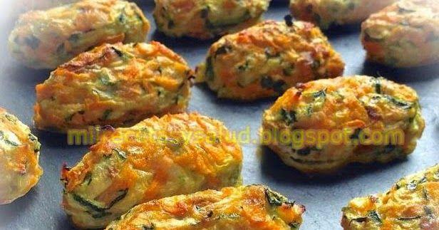 como preparar croquetas de verduras cocidas de bajas calorías