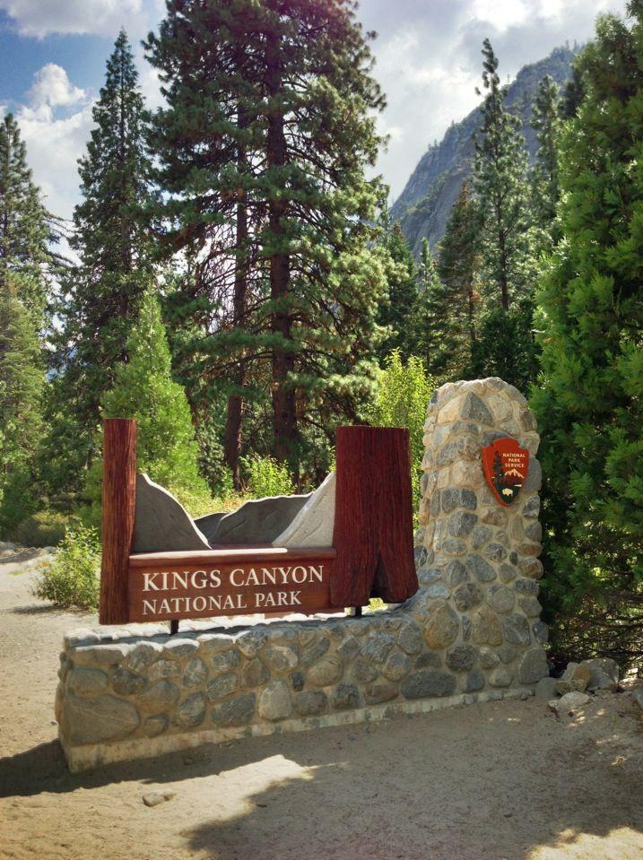 Kings Canyon National Park in Sierra CA