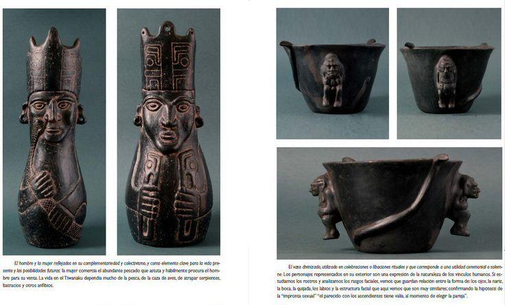 tiwanku ceramic negra