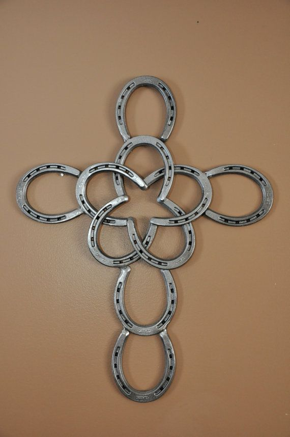 Hey, I found this really awesome Etsy listing at https://www.etsy.com/listing/184218012/horseshoe-cross-with-star