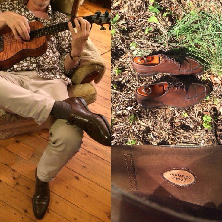 Kala U bass and Edward Green Dover 202 last in dark chestnut