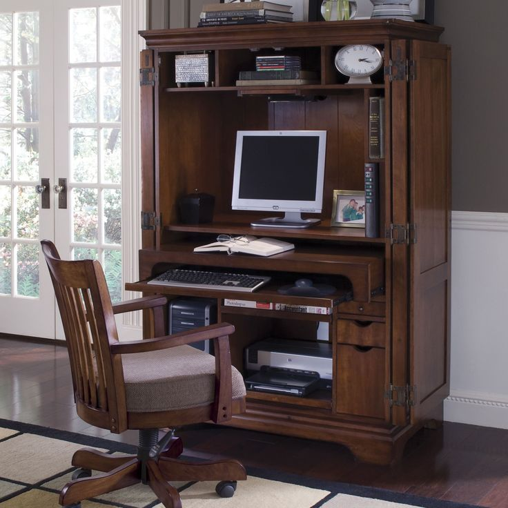 1000 ideas about computer armoire on pinterest gaming. Black Bedroom Furniture Sets. Home Design Ideas