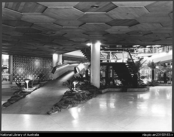 Sievers, Wolfgang, 1913-2007. Miranda shopping centre, Sydney, architects: Tomkins, Shaw & Evans (5) [picture]