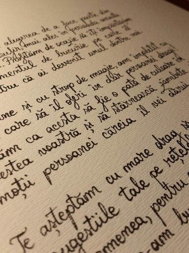 That handwriting!