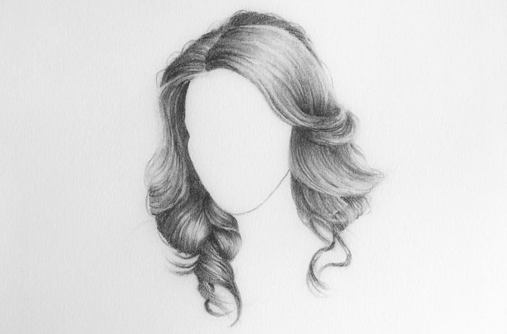 Hair Pencil Drawing Www Imgkid Com The Image Kid Has It