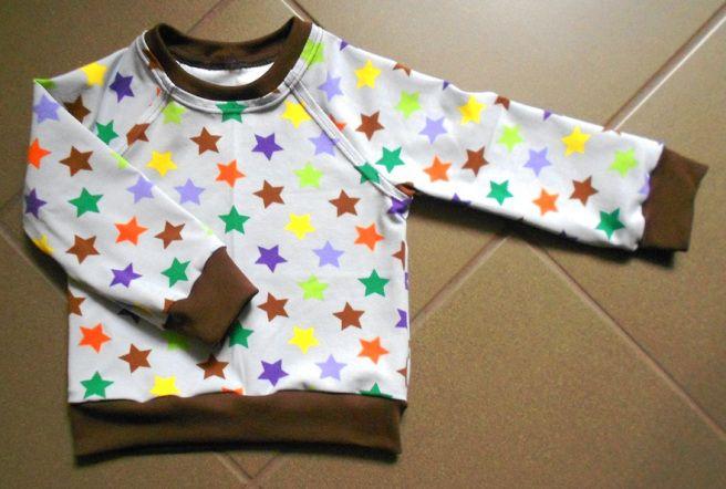 Póló vagy pulóver overlock nélkül - Baby jumper