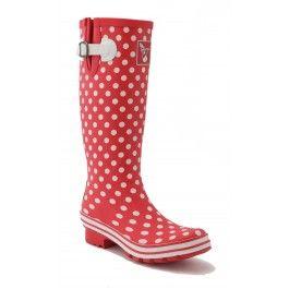 Gerade Gummistiefel Evercreatures Polka Dots-Schuhgröße 38 gekauft: