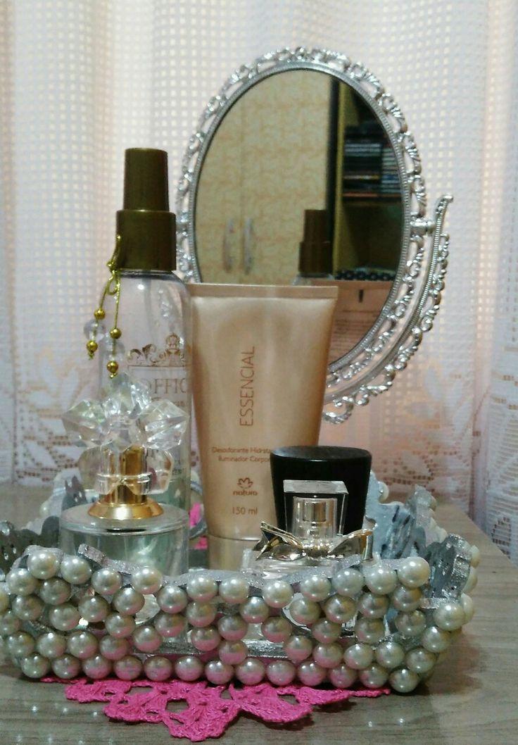 Bandeja para perfume