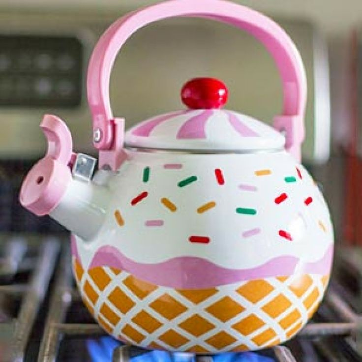 Just Take All My Money | Cupcake Tea Kettle