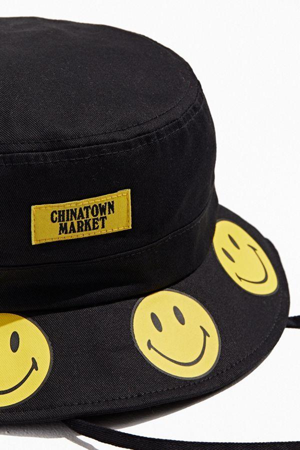 Chinatown Market X Smiley Uo Exclusive Bucket Hat Retro Outfits Retro Jordans 11 Chinatown