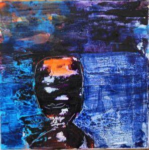 Bente K Syr - Uten en Rød tråd – gjenspeiler min kunst og felles er mye farger - 2 døgnsskiftet er over og dette er mitt siste bilde fra Berlevåg