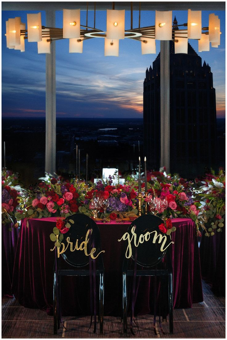Luxe and Modern Wedding Reception Inspiration