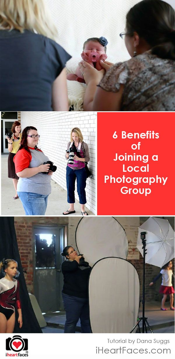6 Benefits of Joining a Photography Group