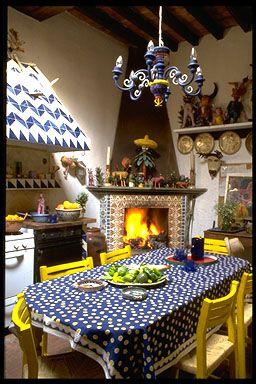 La Casa de Espiritus Alegres- kitchen- Guanajuato, Mexico