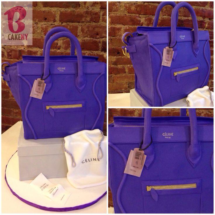 Celine bag cake!   BCakeNY CAKES   Pinterest   Celine Bag, Bag ...