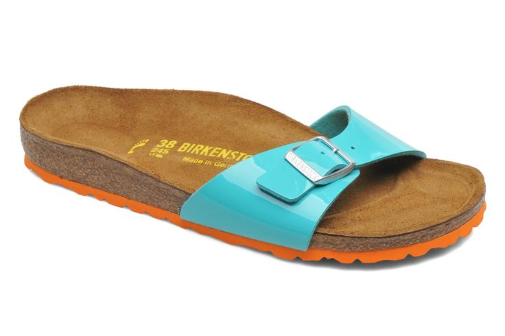 Birkenstock Madrid Flor W Mules & clogs in Green at Sarenza.co.uk (218008)