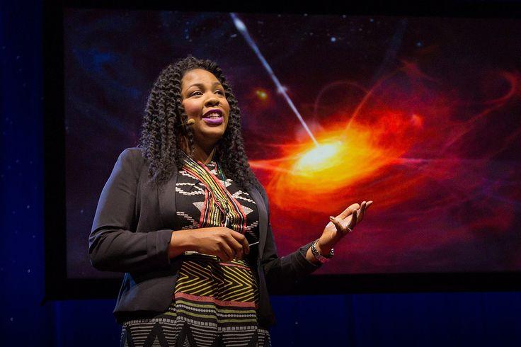 TED Talks: Чернокожие женщины в науке Какой образ возникает у вас в голове, когда вы слышите слово «астрофизик»? Кто-то вроде Шелдона Купера, мужчина, погруженный в мысли о науке и расчеты, не обращающий внимания на мир вокруг? Тогда посмотрите на Джедиду Айлер. Джедид