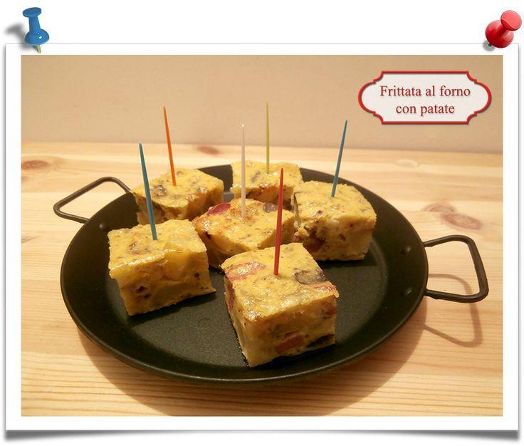 Imparare l'Arte della Cucina Quotidiana: Frittata al forno con patate
