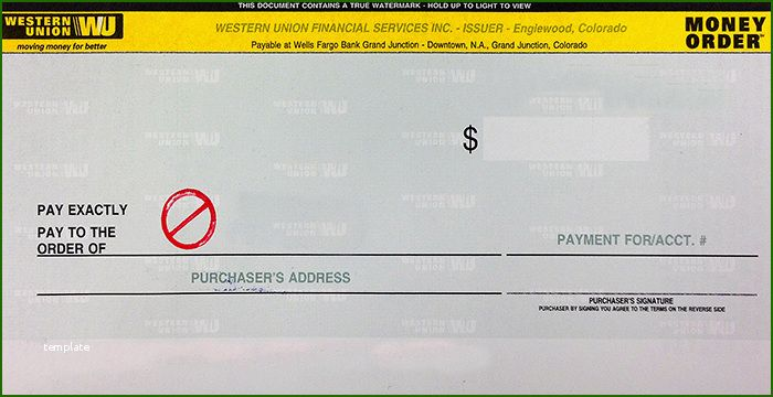 How To Check Western Union Money Order
