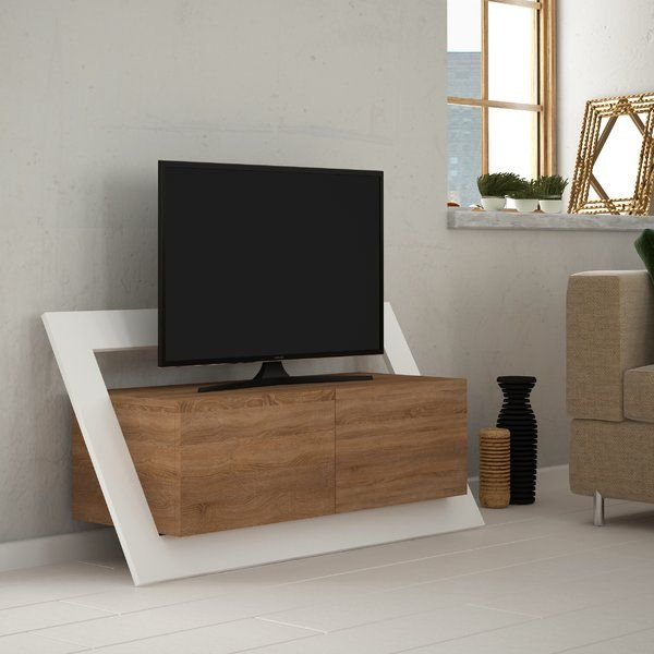 The Pearl TV Stand is a unique piece from the modern TV stands collection. Featuring a sleek surface for your flat screen TV, shelving and storage for your media and items, it will organise your living room in style.
