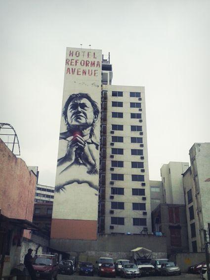 Calle Morelos. México