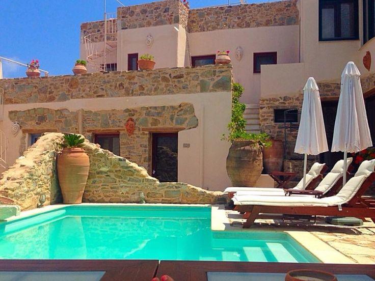 Enjoy Cretan hospitality in Cressa Ghitonia Village! www.cressa.gr #Crete #hospitality #village
