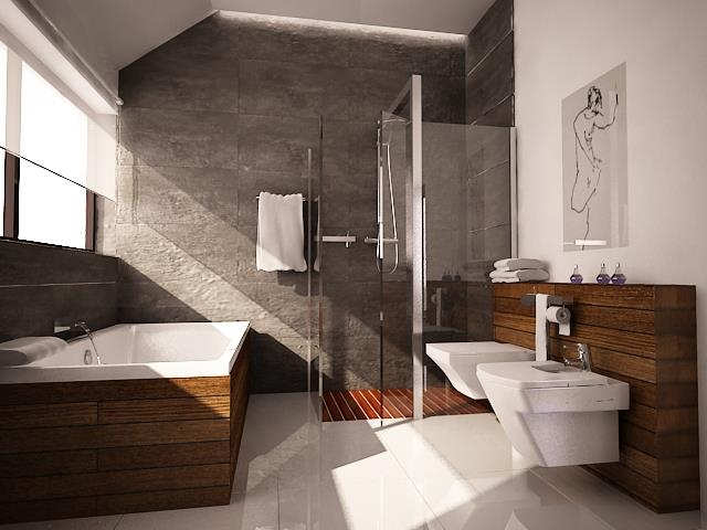 #łazienka #bathroom wg 3esdesign.pl