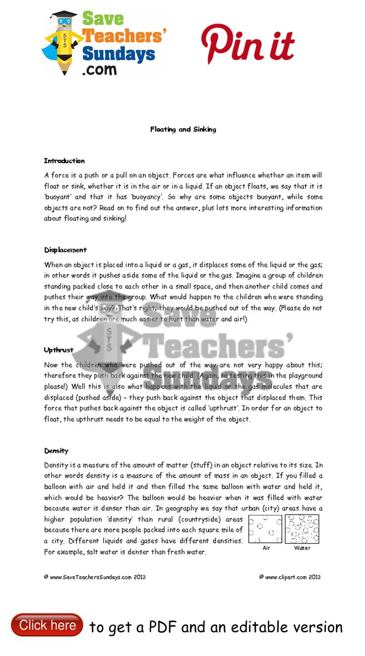 Uncategorized Water Properties Worksheet 33 best year 5 forces lesson plans worksheets and teaching 4 buoyancy other primary resources