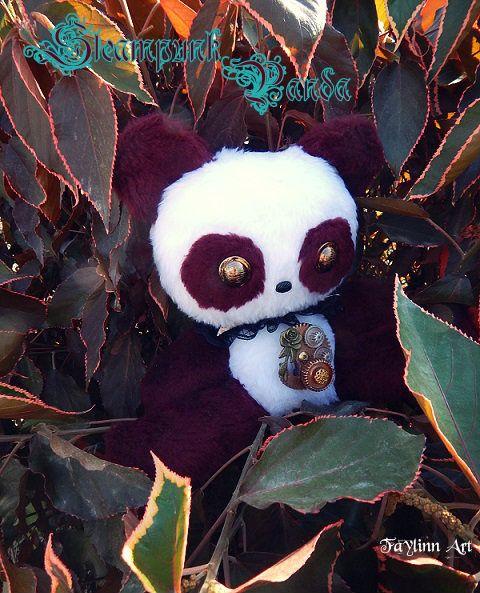 Steampunk panda by Faylinn Art