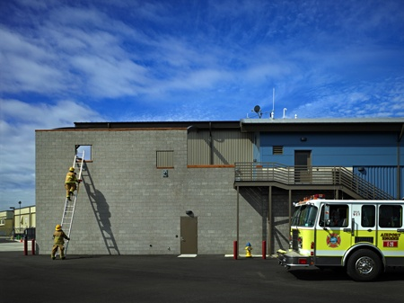 | TCA Architecture & Planning | Seattle Aircraft Rescue Fire Fighting Station (ARFF), Paine Field | TCA