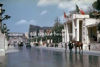 rome at the time of hitler state visit to italy in 1938_wwii