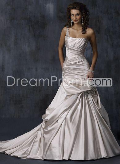 So beautiful!!: Wedding Dressses, Style, Wedding Dresses, Wedding Ideas, Weddings, One Shoulder, Dream Wedding, Maggie Sottero