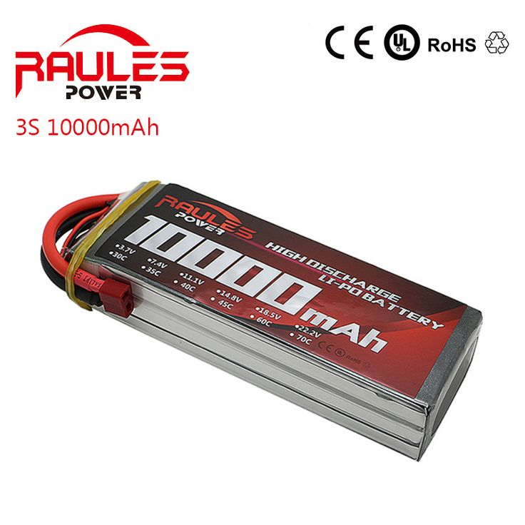 Li-polymer Lipo Battery 11.1v 10000mAh 25C 3S XT60 Plug for RC Helicopter Car Boat Quadcopter Drone Battery Lipo //Price: $US $58.00 & FREE Shipping //     #clknetwork