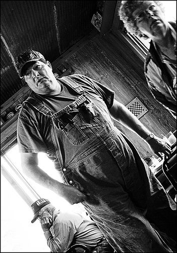https://flic.kr/p/JE4cv | Key Overalls | Taken Candid in the Triangle Cafe