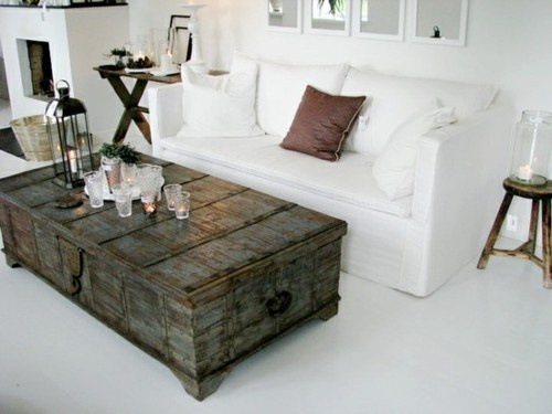 LOVE this as a coffee table.