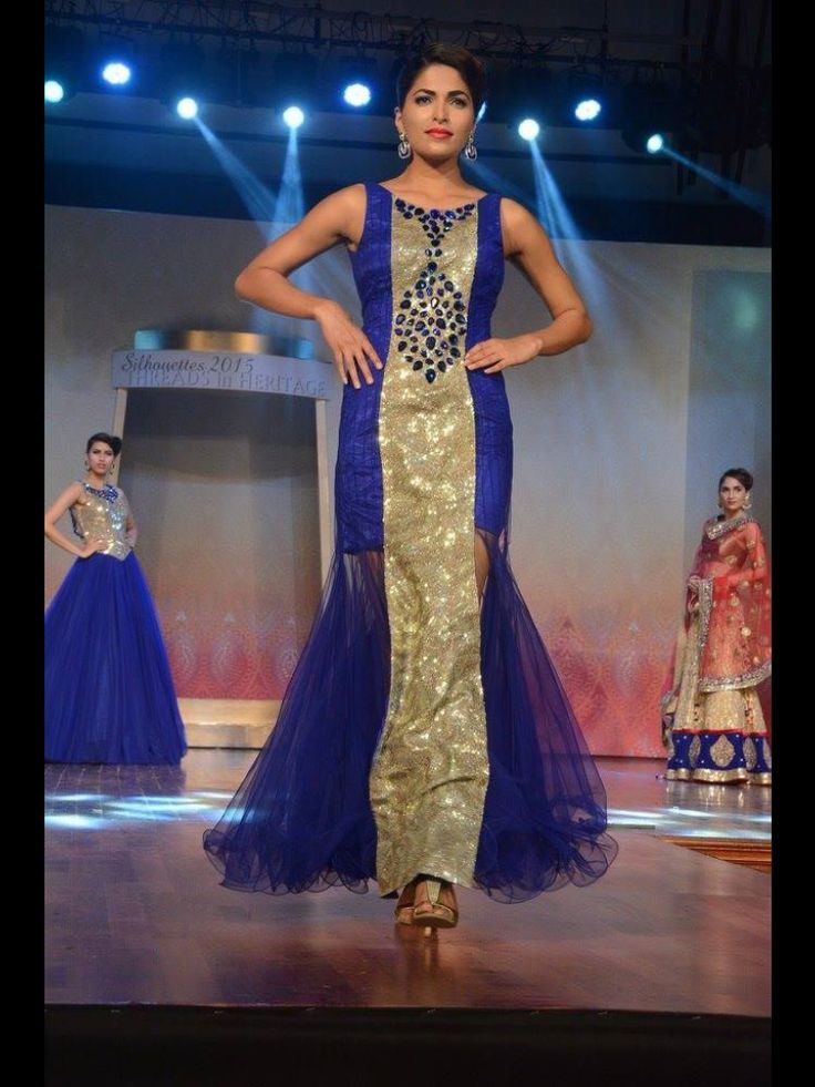 Sequence and net mix gown, perfect option for night parties only at manish reshamwala fashion studio, 9879568040