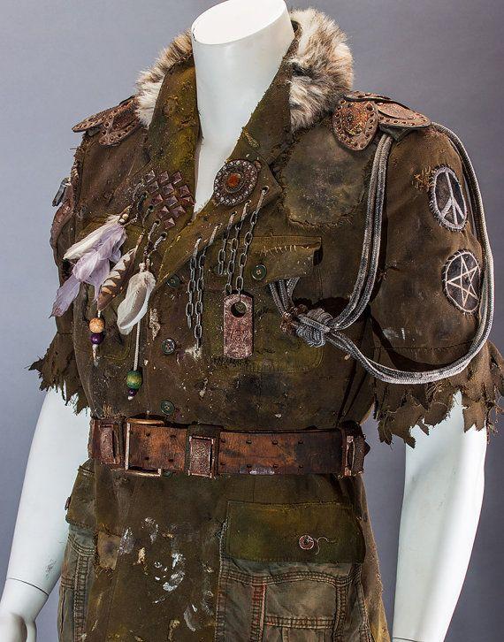 Ödland-Jacke grün Militär Herren Jacke