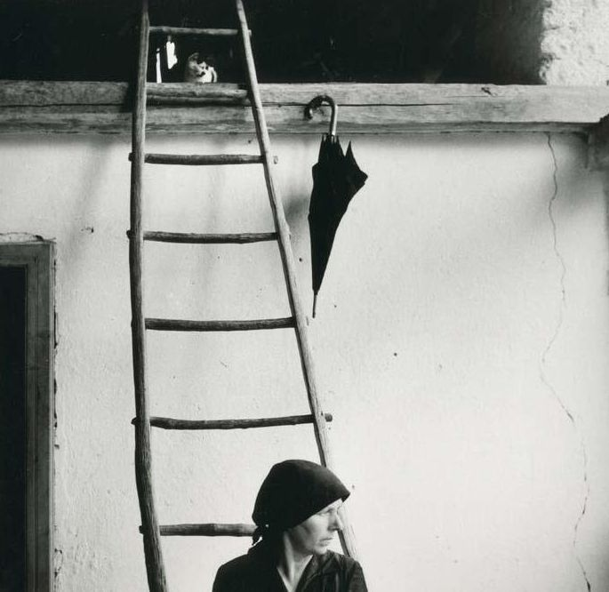Gianni Borghesan - Serie 'Ritratti in esterno', 1957