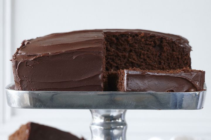 Melt 'n' mix chocolate cake