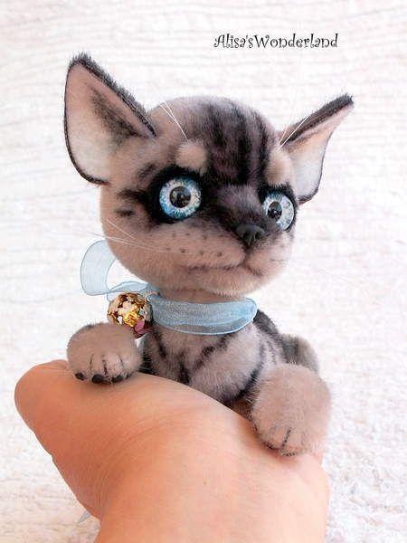 TicTac серый котенок Алиса Шангина - Bear Pile