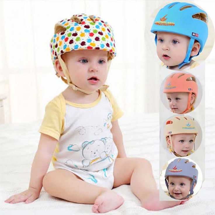 Baby Hat Infant Safety Helmet Protective Cotton Summer Bonnet Baseball Cap New #Unbranded #Bonnet