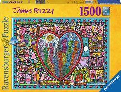 17,99€ Rizzi: Καρδιά 2011 1500pcs (16295) Ravensburger
