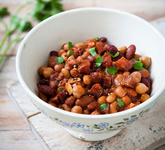 Summer Stew With A Spanish Accent Chorizo And Beans Food