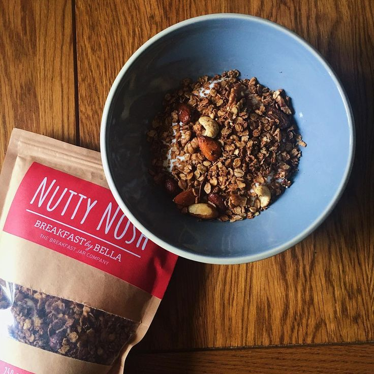 Breakfast By Bella's Nutty Nosh granola by Amy Jo at  I Prefer Cooking Blog.   See full post here: https://www.instagram.com/p/BV_piM_lFkW/?taken-by=iprefercooking