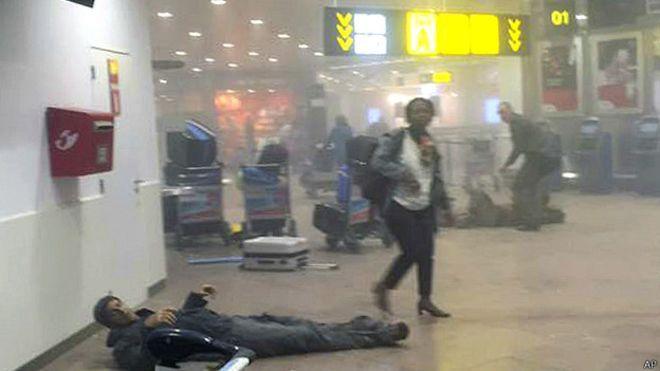 Bélgica en alerta máxima tras las explosiones en el aeropuerto y en el metro de Bruselas